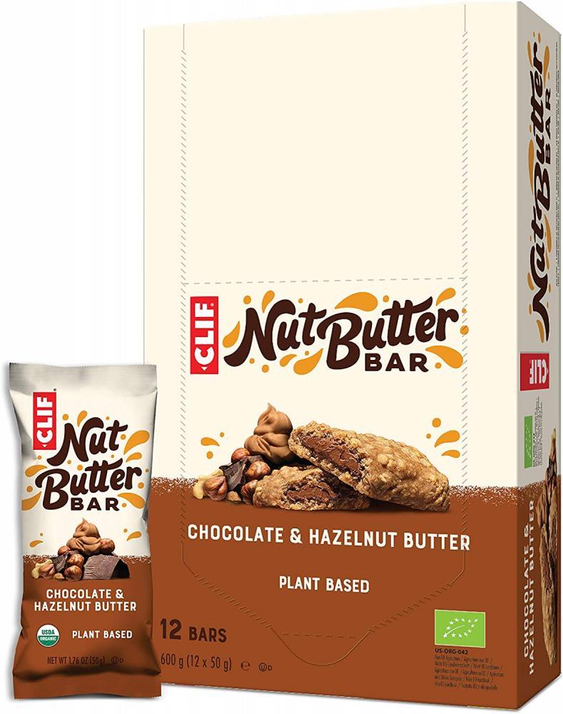 Clif Nut Filled Butter Energy Bar Chocolate Hazelnut Butter 50g