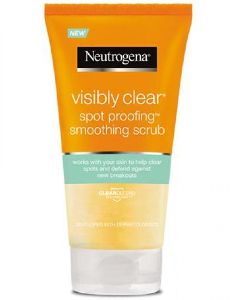 Neutrogena Visibly Clear Spot Proofing Soothing Scrub 150 ml