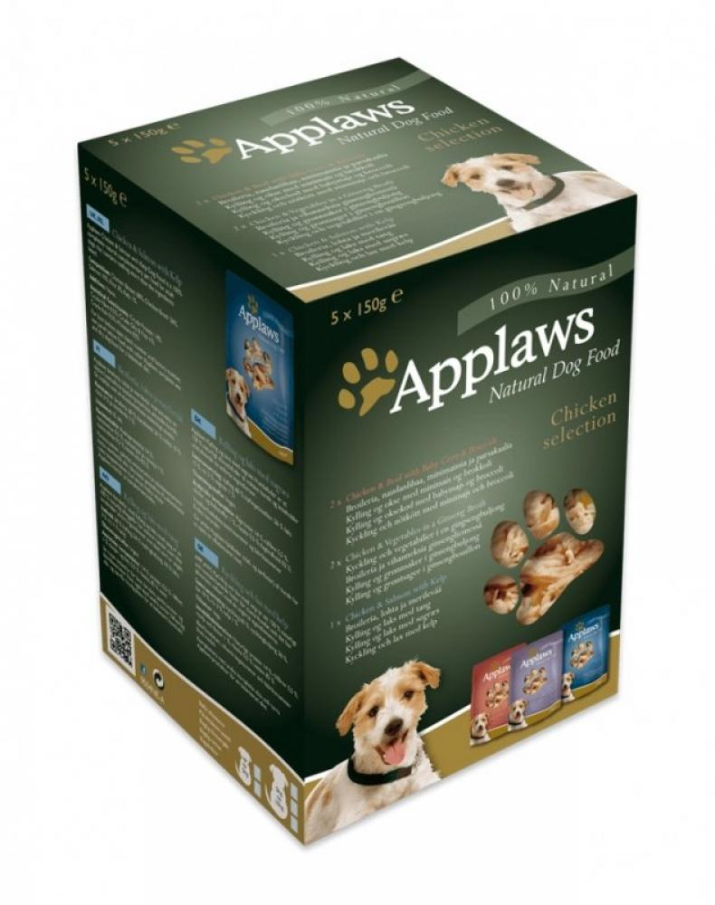 Applaws Chicken Selection Dog Food 150g x 5
