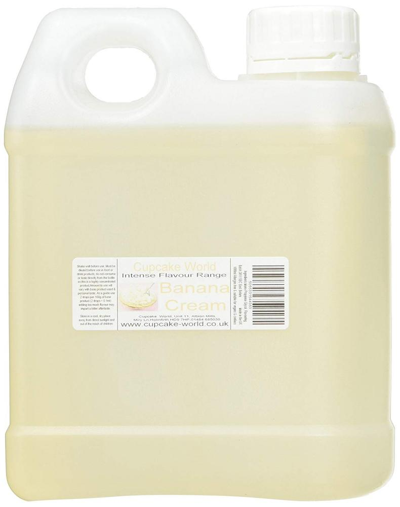 Cupcake World Banana Cream 1L