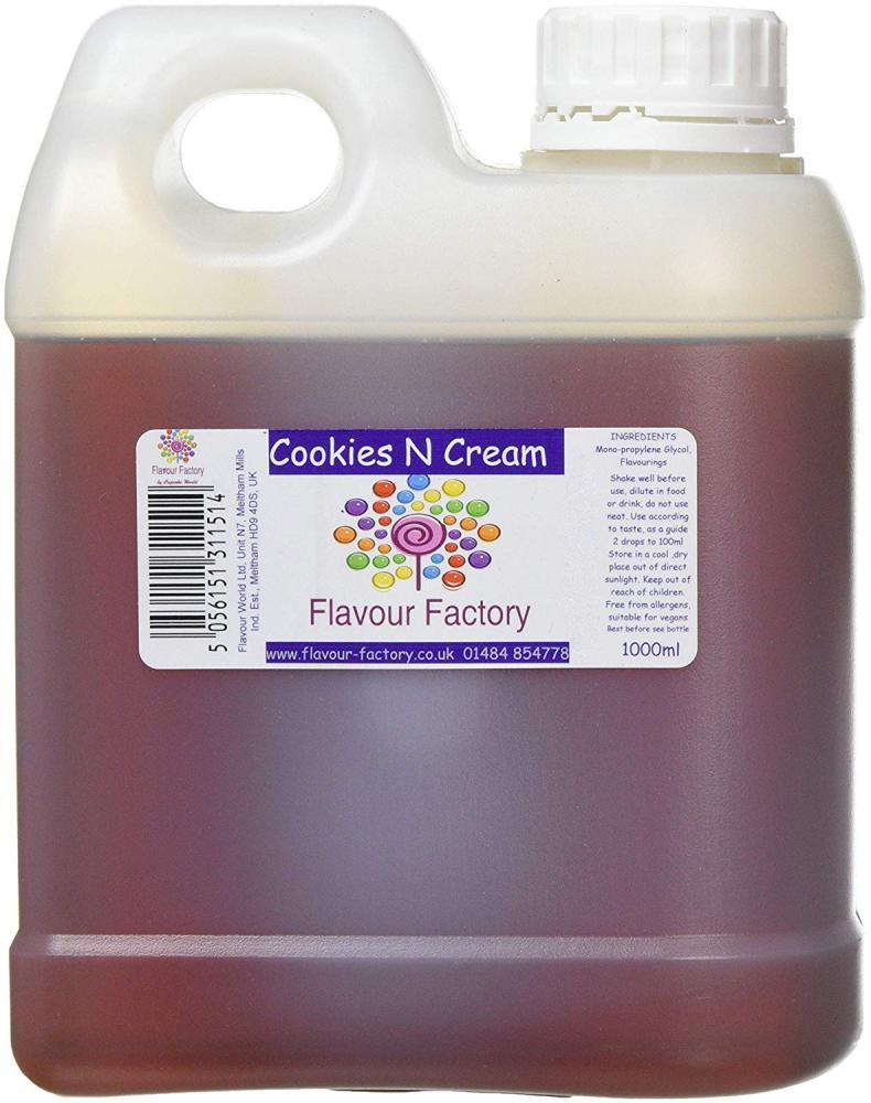 Flavour Factory Cookies n Cream 1L