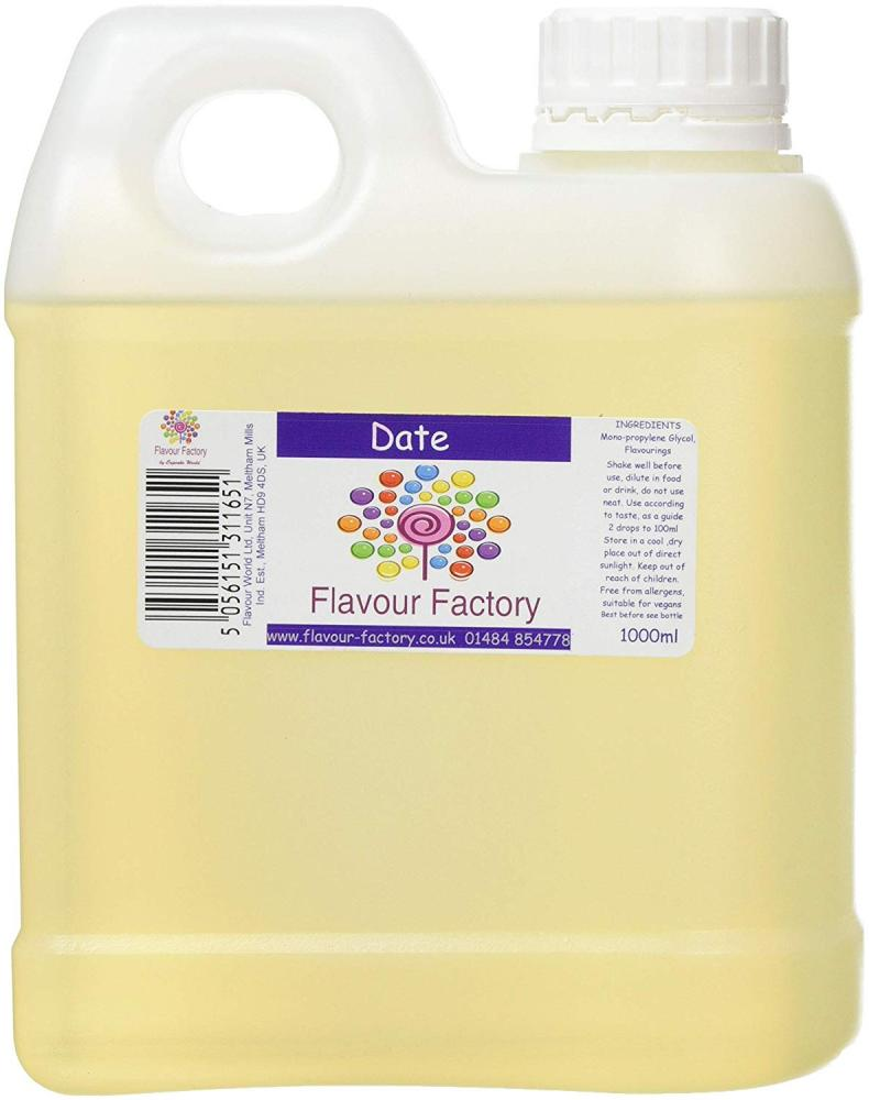 Flavour Factory Intense Food Flavouring Date 1000ml