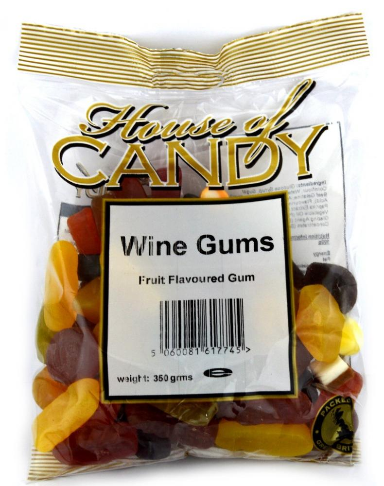 House Of Candy Wine Gums 250g