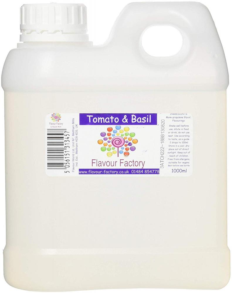 Flavour Factory Tomato and Basil 1L