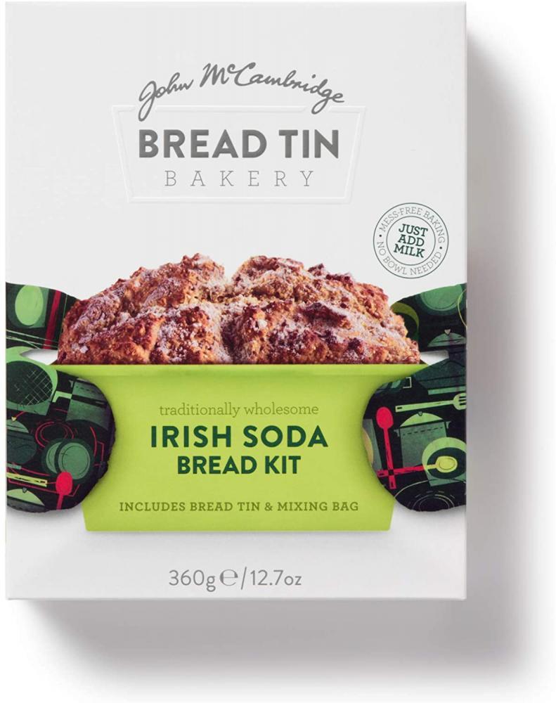 John M Cambridge Bread Tin Bakery Irish Soda Bread Kit 360 g