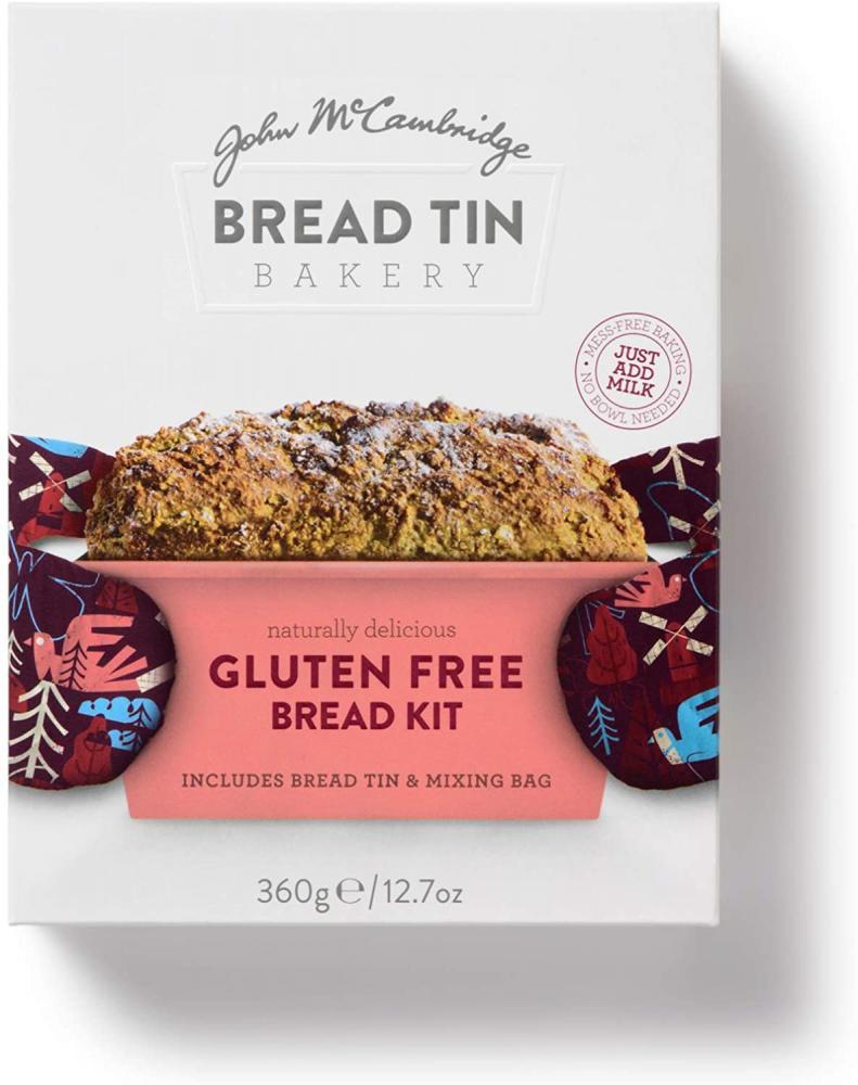 McCambridge Bread Tin Bakery Gluten Free Irish Soda Bread Kit 360g