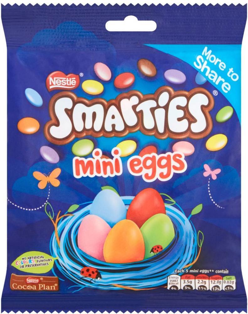 Nestle Smarties Mini Eggs 300g