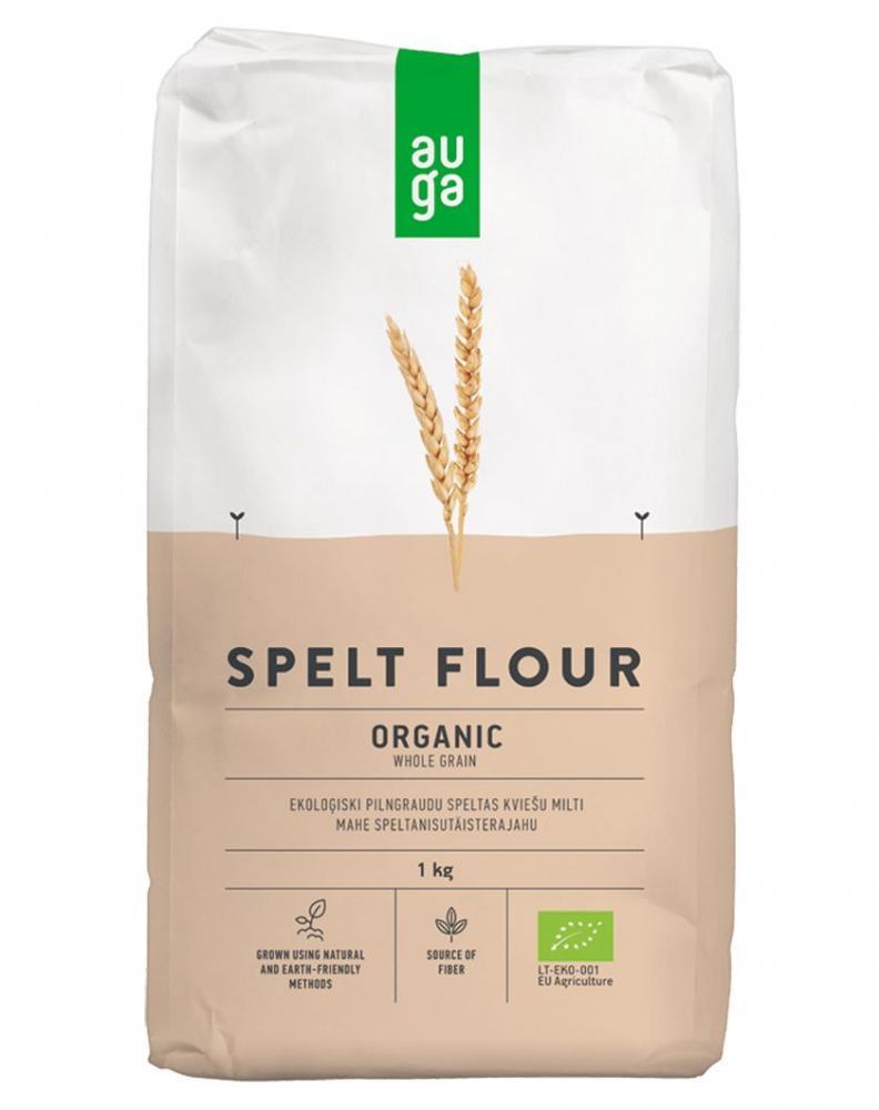 Auga Organic Wholegrain Spelt Flour 1kg