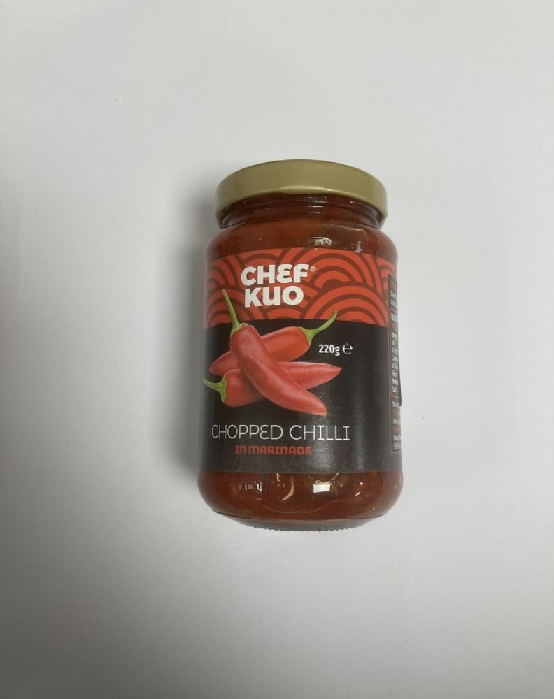 Chef Kuo Chopped Chilli In Marinade 220g
