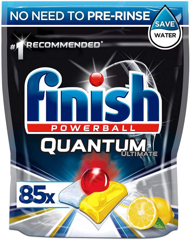 Finish Quantum Ultimate Dishwasher Tablets Lemon Scent 85 capsules