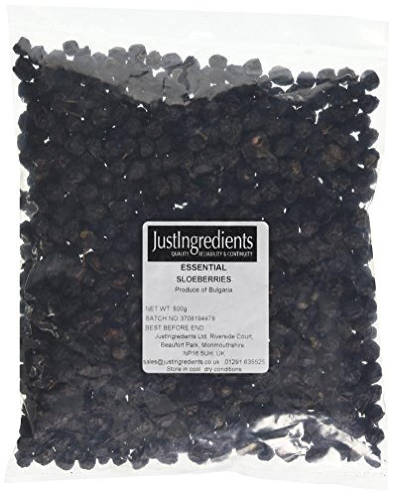 JustIngredients Essential Sloe Berries 500g