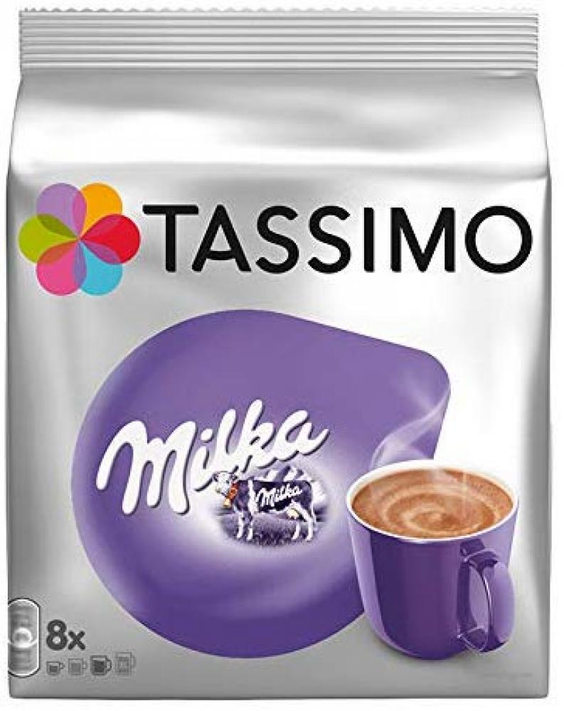 Tassimo Milka Hot Chocolate x8