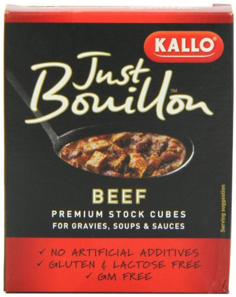 Just Bouillon Beef Stock Cubes 72 g