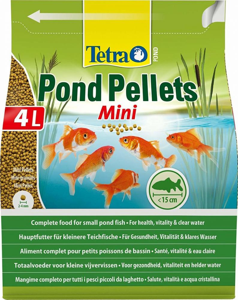 Tetra Pond Pellets Mini Complete Fish Food For Pond Fish 4l