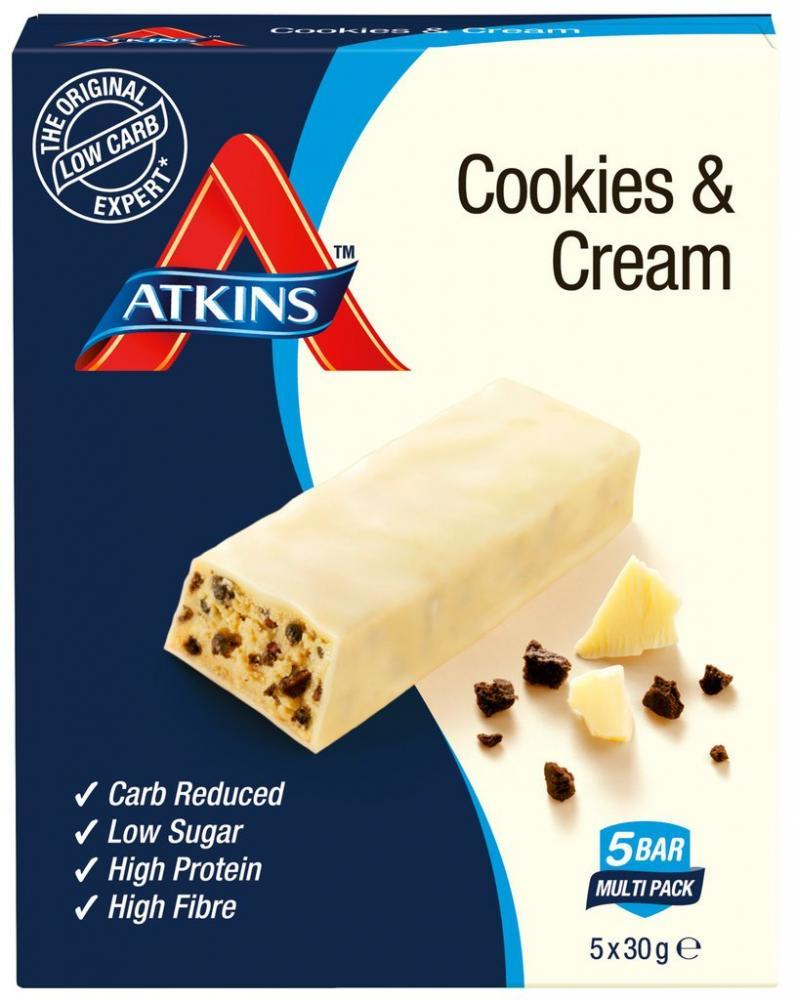 Atkins Cookies and Cream 30g x 5