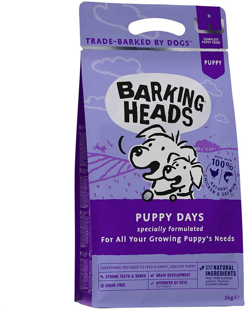 Barking Heads Dry Dog Food for Puppies Puppy Days 2kg