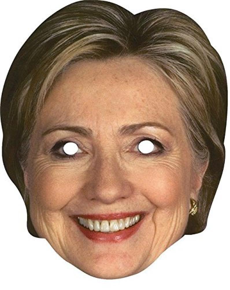 Unbranded Maskarade Hillary Clinton Part Mask