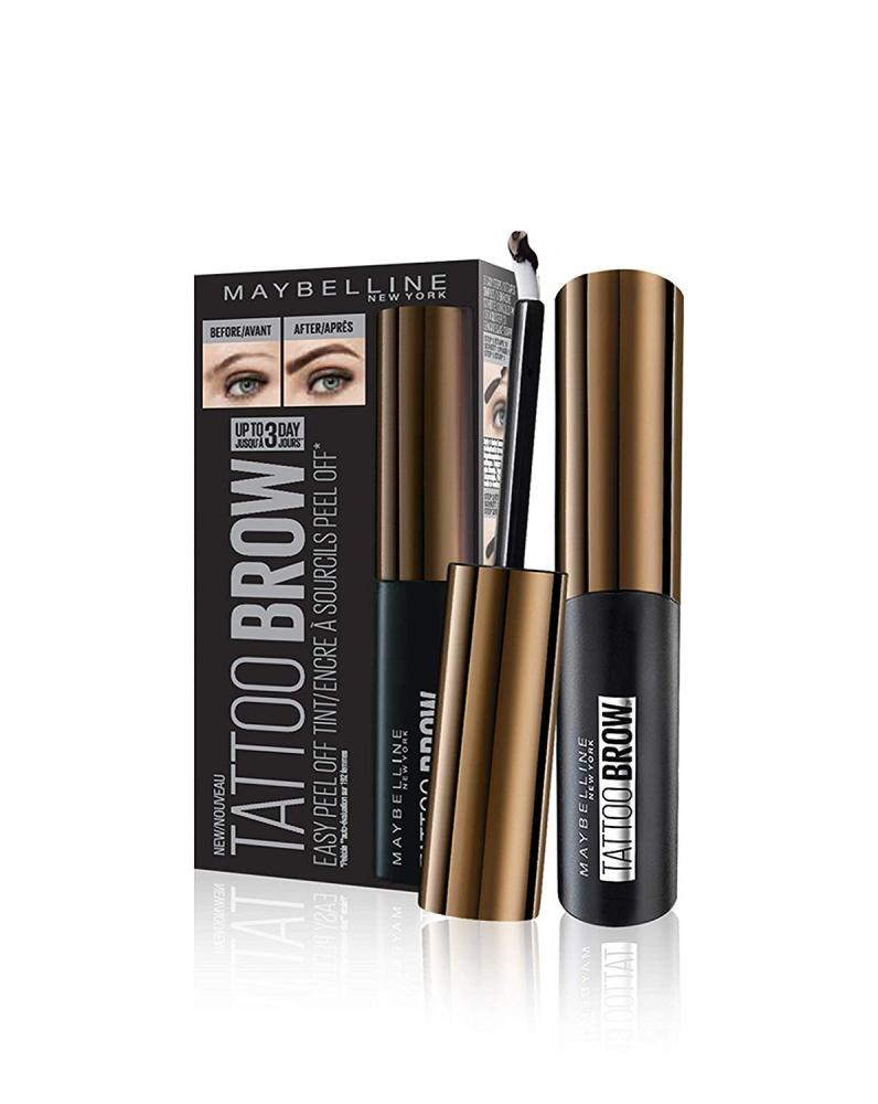 Maybelline Tattoo Brow Dark Brown 4.9ml | Approved Food