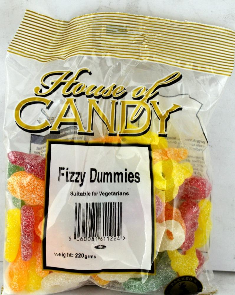 House Of Candy Fizzy Dummies 220g