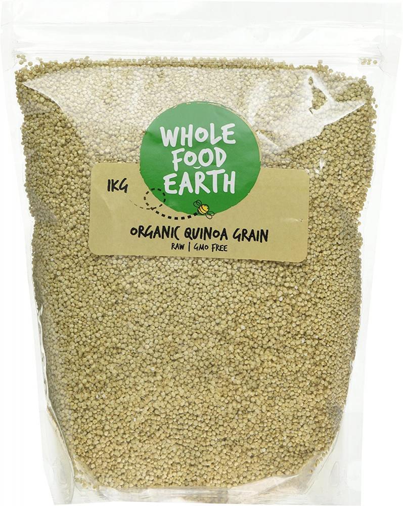 Wholefood Earth Organic Quinoa Grain 1 kg