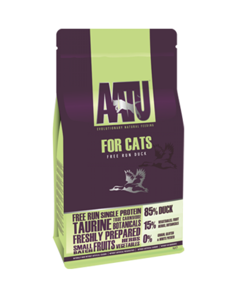 AATU For Cats Free Run Duck 3Kg