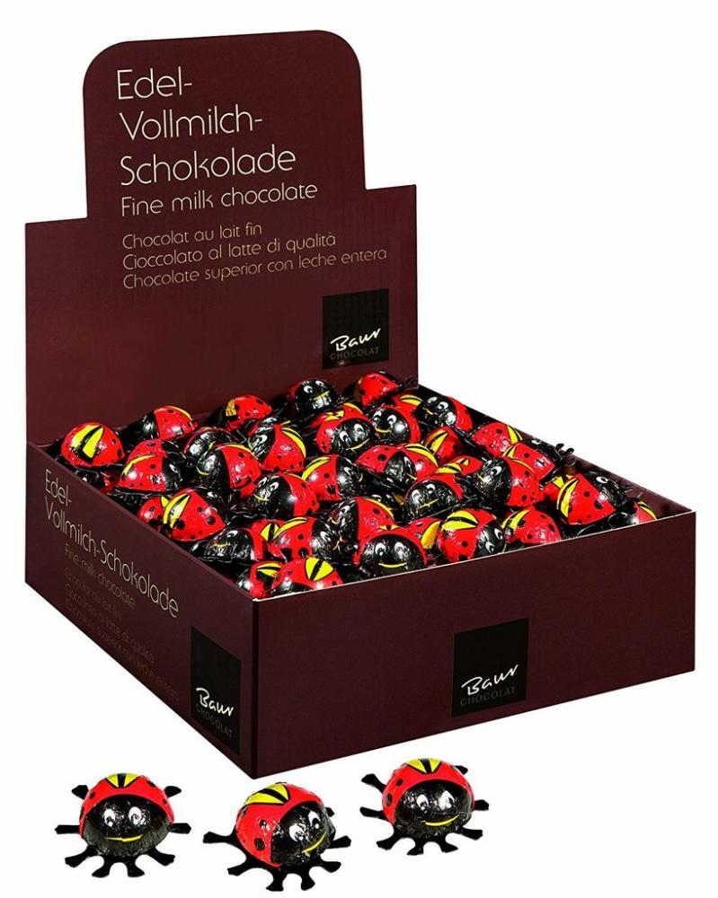 Baur Chocolate Box of Mini Chocolate Ladybirds 200x4g