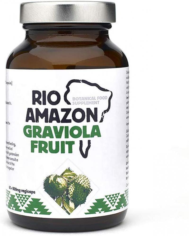 Rio Amazon 500 mg Graviola Fruit Extract 60 Vegicaps