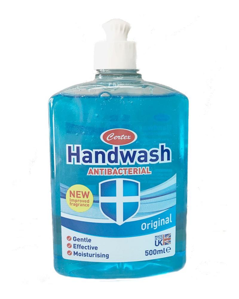 Certex Antibacterial Handwash Original 500ml