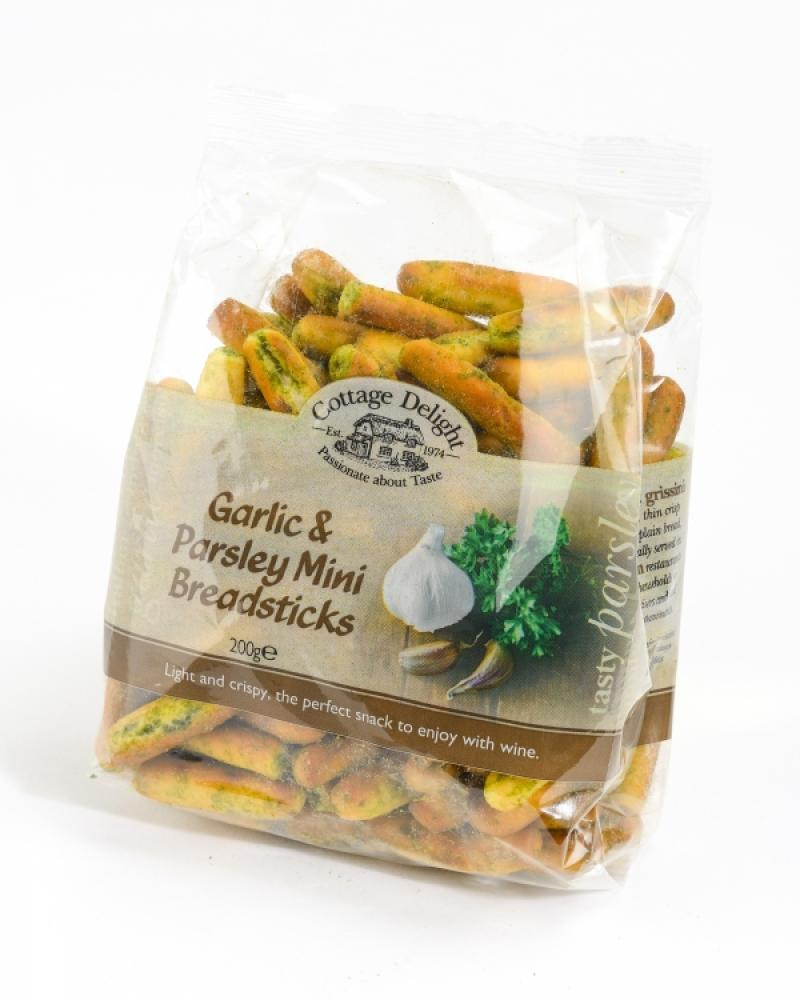 Cottage Delight Garlic and Parsley Mini Breadsticks 200g