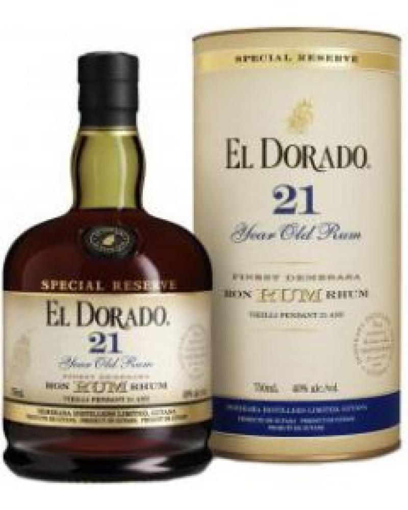 El Dorado 21 Year Old Special Reserve Dark Rum 70cl