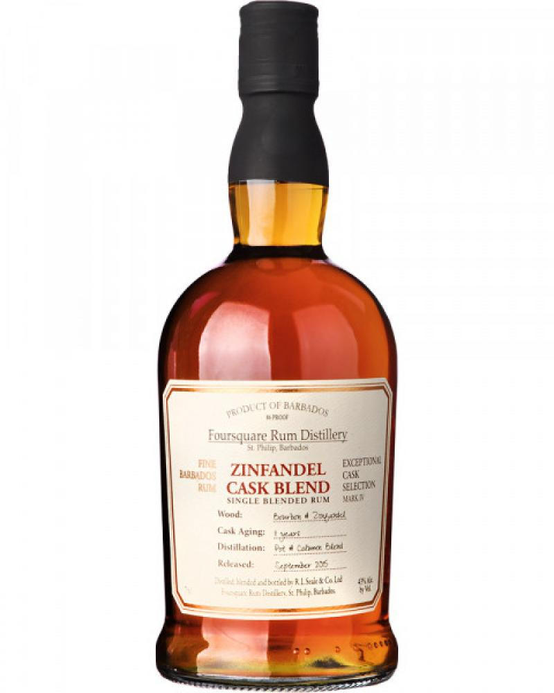 Foursquare 11 Years Old Zinfandel Cask Blend 700ml