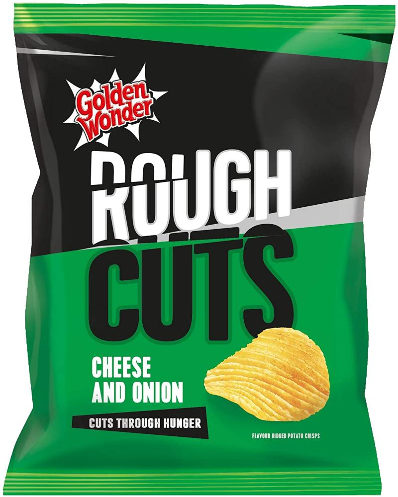 Golden Wonder Rough Cheese and Onion 47.5g