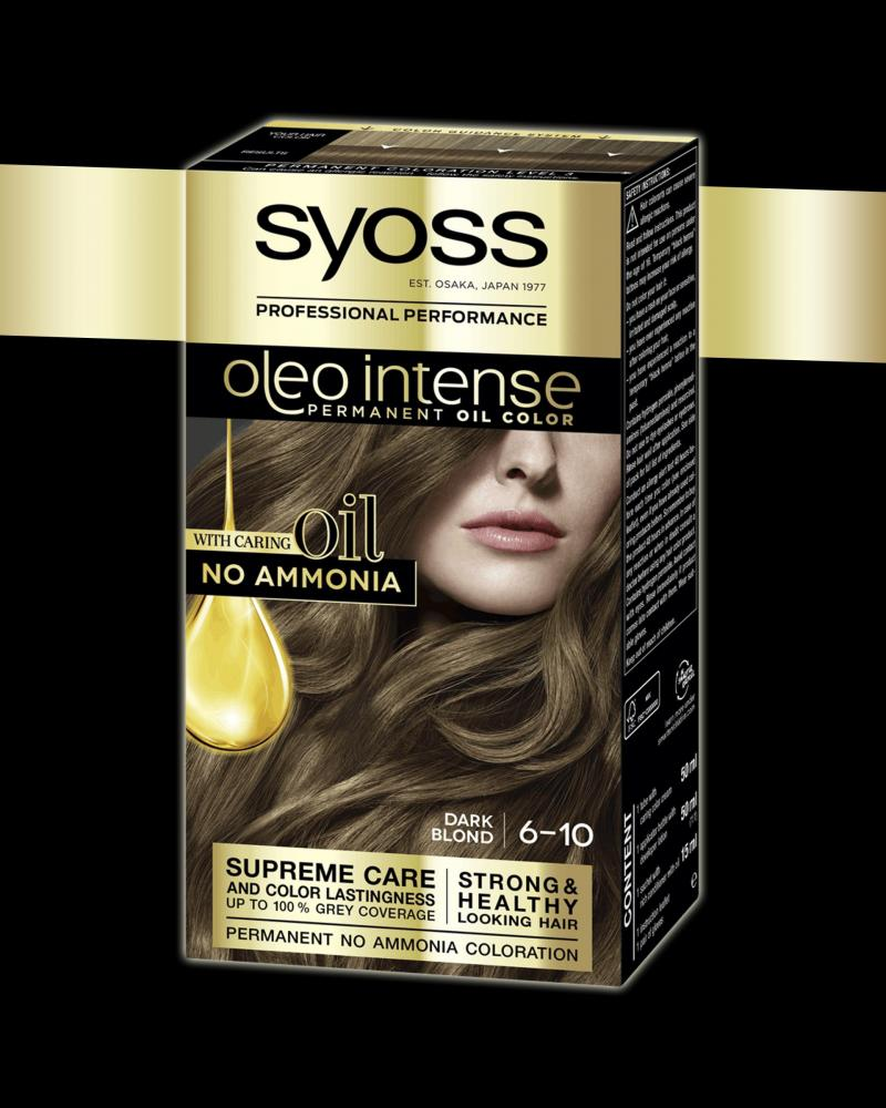 Schwarzkopf Oleo Intense Permanent Oil Colour Dark Blonde 6-10