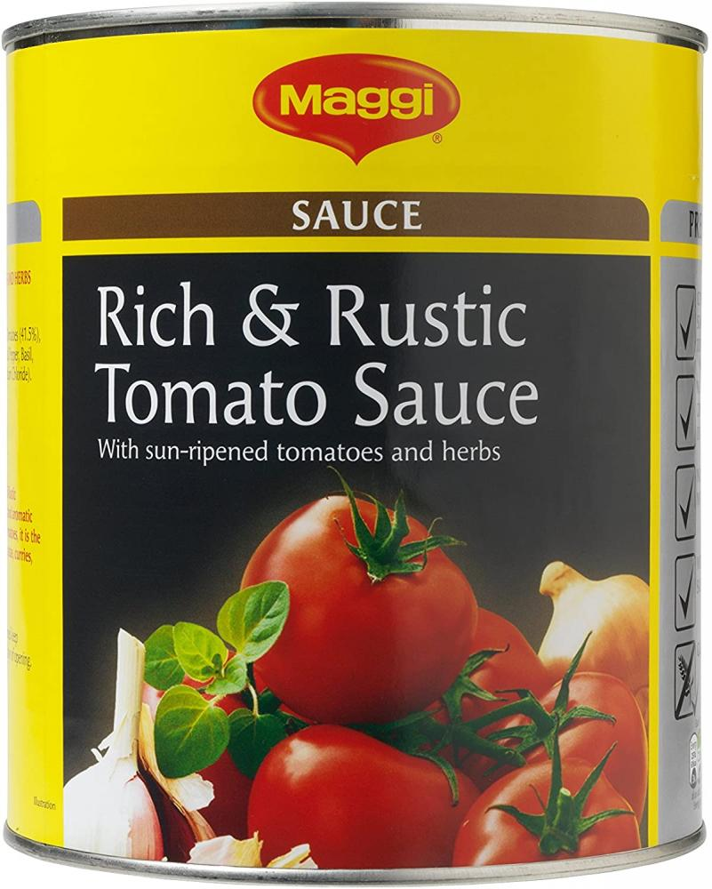 Maggi Rich and Rustic Tomato Sauce 3kg Damaged