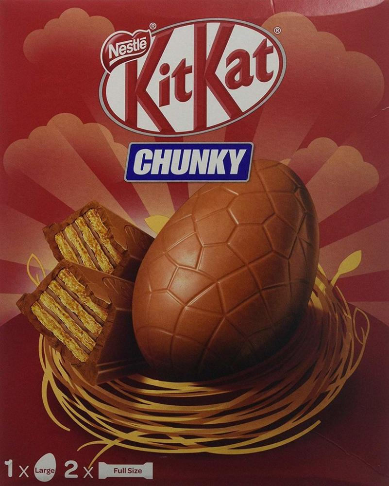 Nestle KitKat Chunky Large Easter Egg 260g