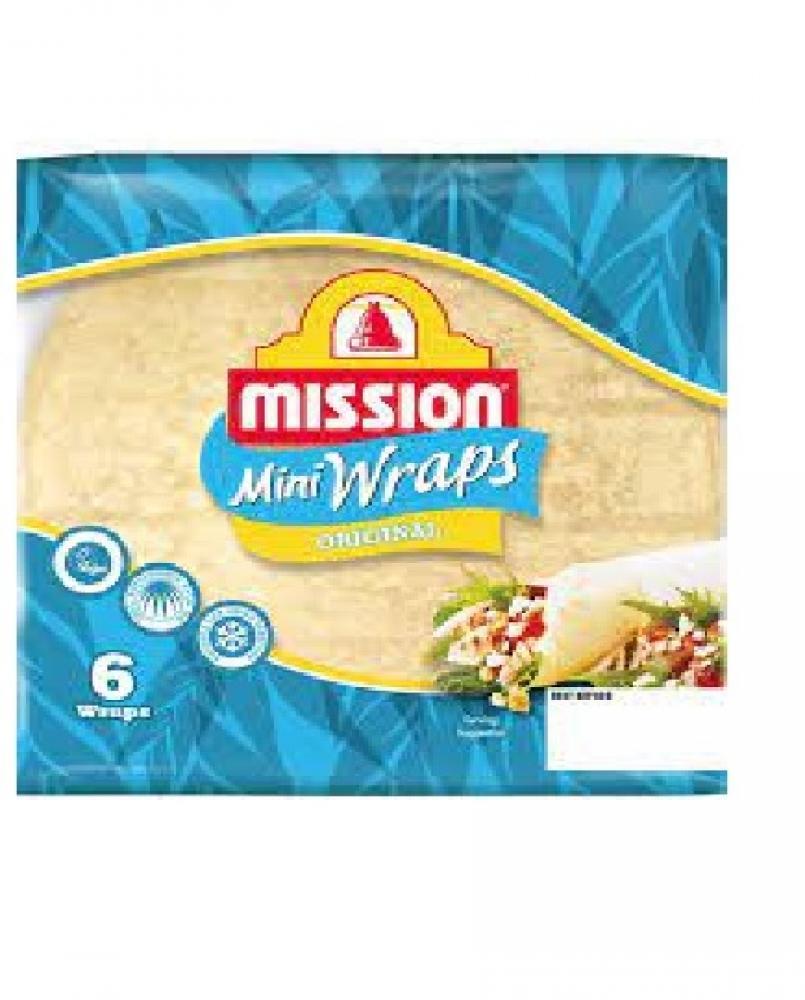 Mission Mini Wraps Original 6 Pack 186g