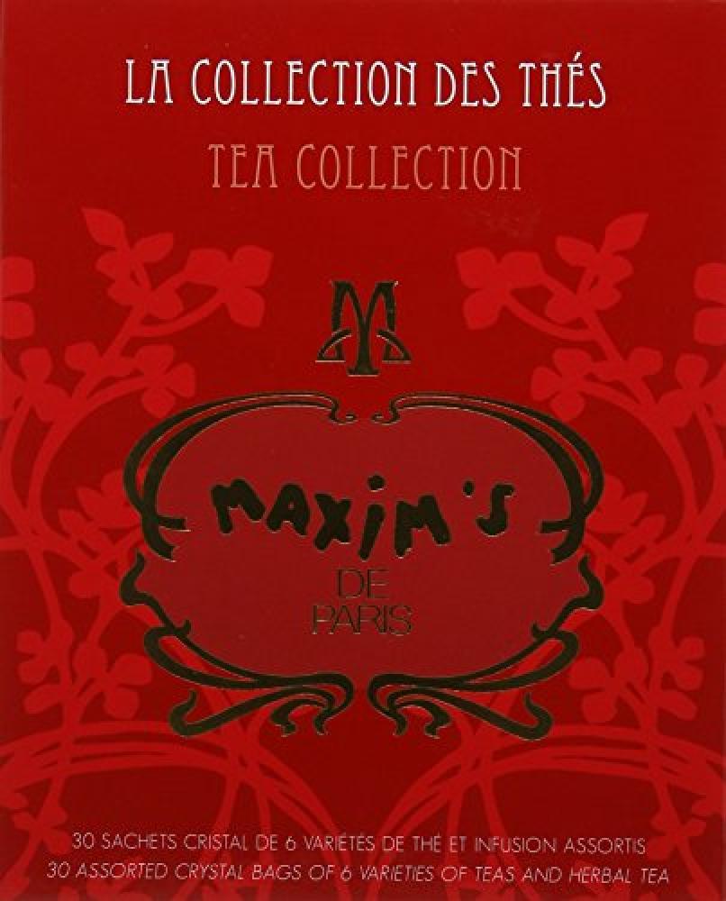 Maxims de Paris Assorted Tea Bags Gift Box 57g