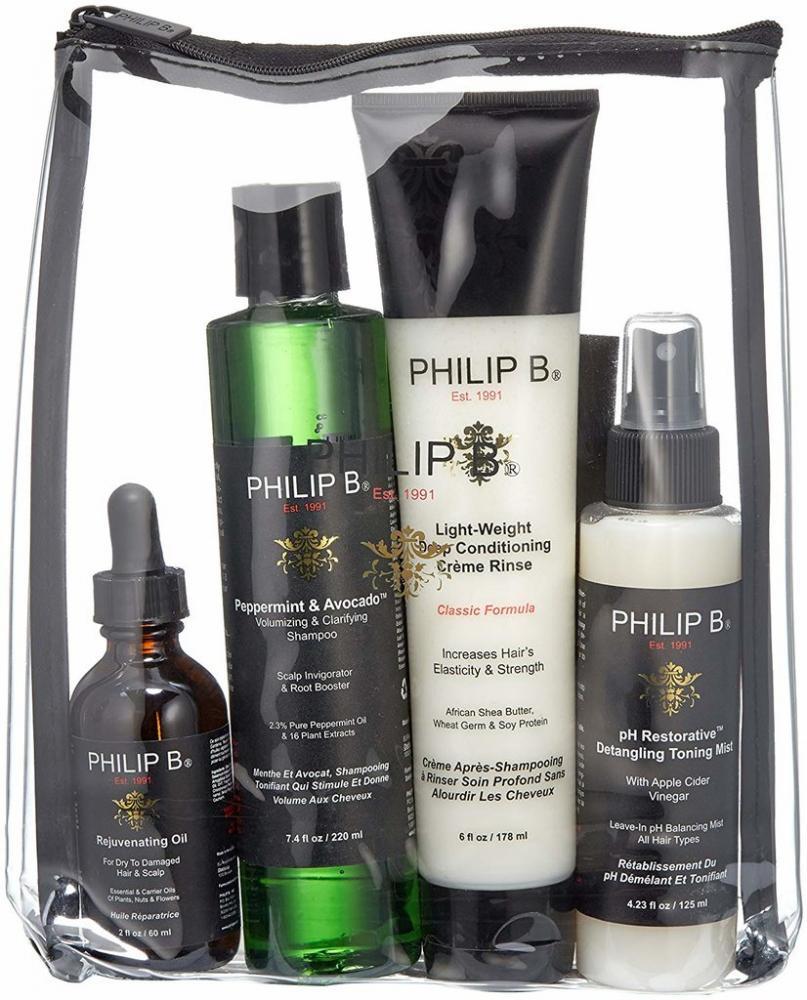PHILIP B Four Step Hair and Scalp Treatment Kit