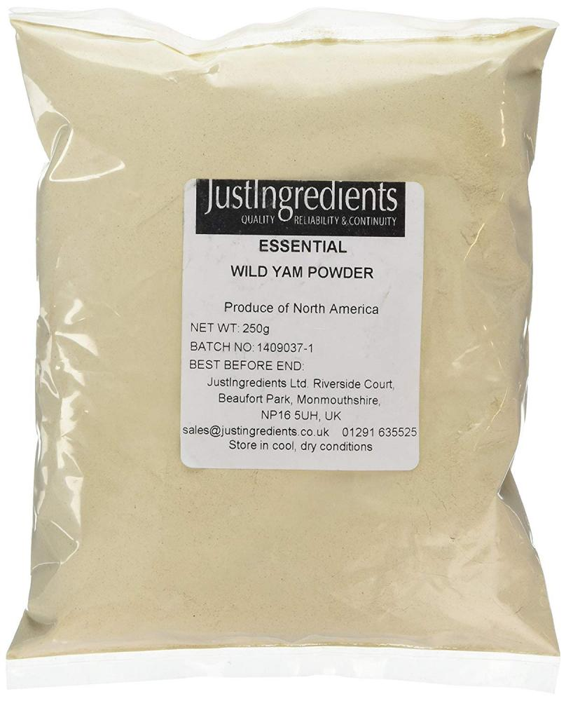 JustIngredients Essentials Wild Yam Root Powder 250g