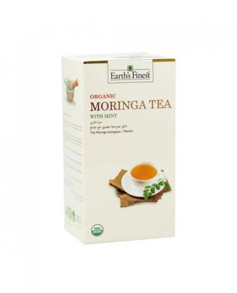 Moringa Tea Organic Moringa Tea With Mint 25 Tea Bags
