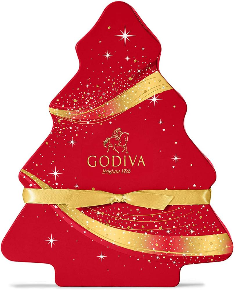 MEGA DEAL  Godiva Chocolate Christmas Tree Gift Box 184g