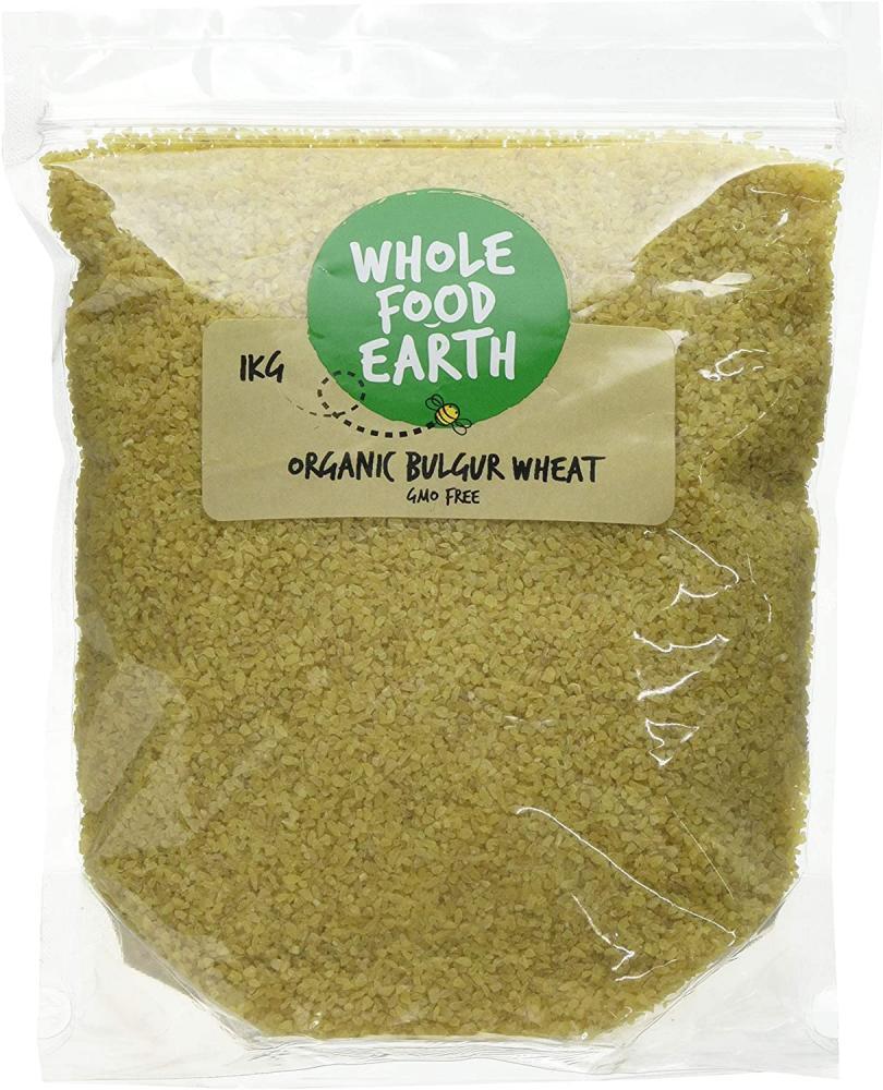Wholefood Earth Organic Bulgur Wheat 1 kg