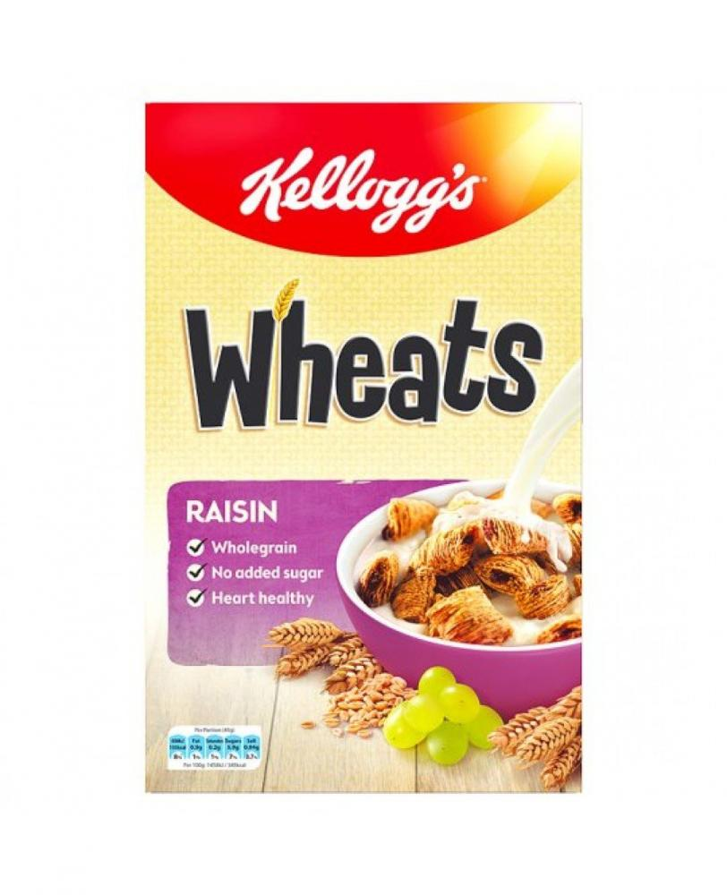Kelloggs Raisin Wheats Cereal 600g