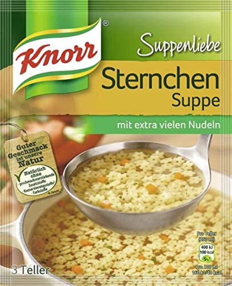 Knorr Sternchen Suppe 84 G