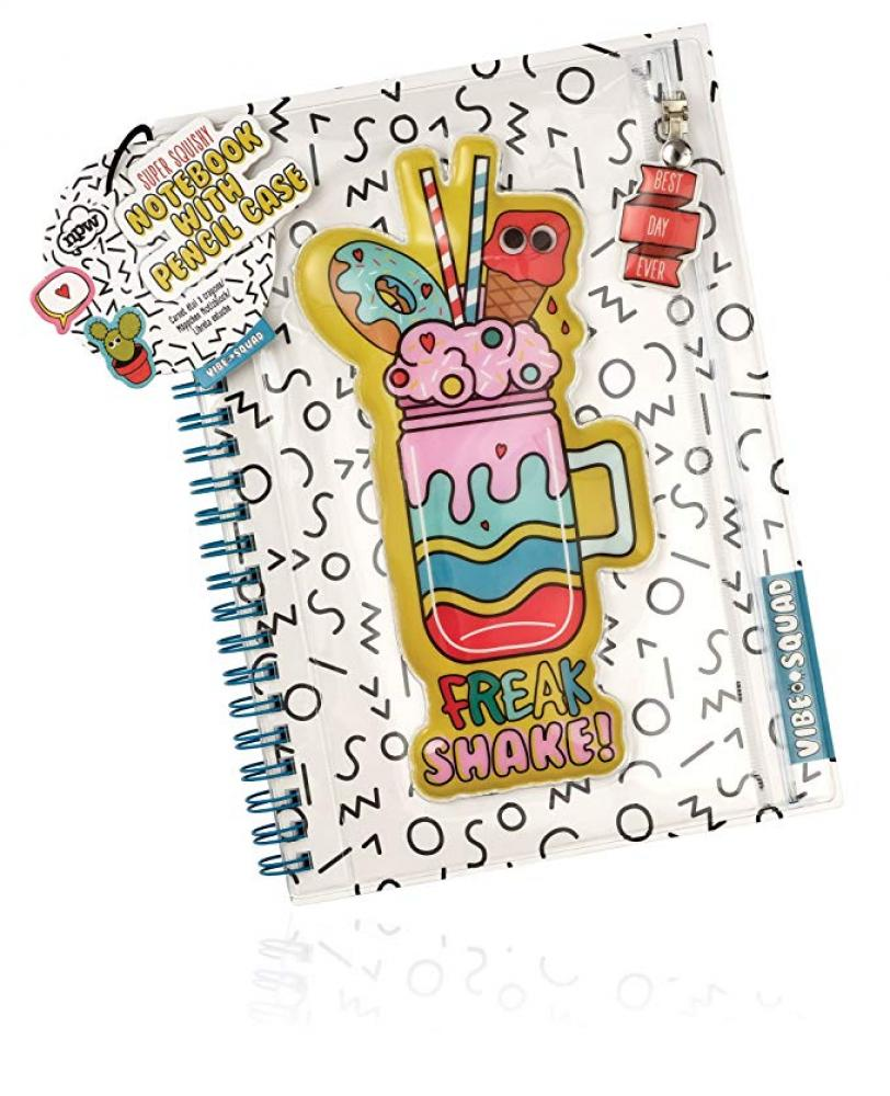 NPW Super Squishy Notebook with Pencil Case