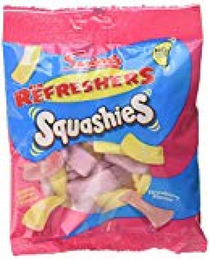 Swizzels Refreshers Lemon And Strawberry Squashies 160g