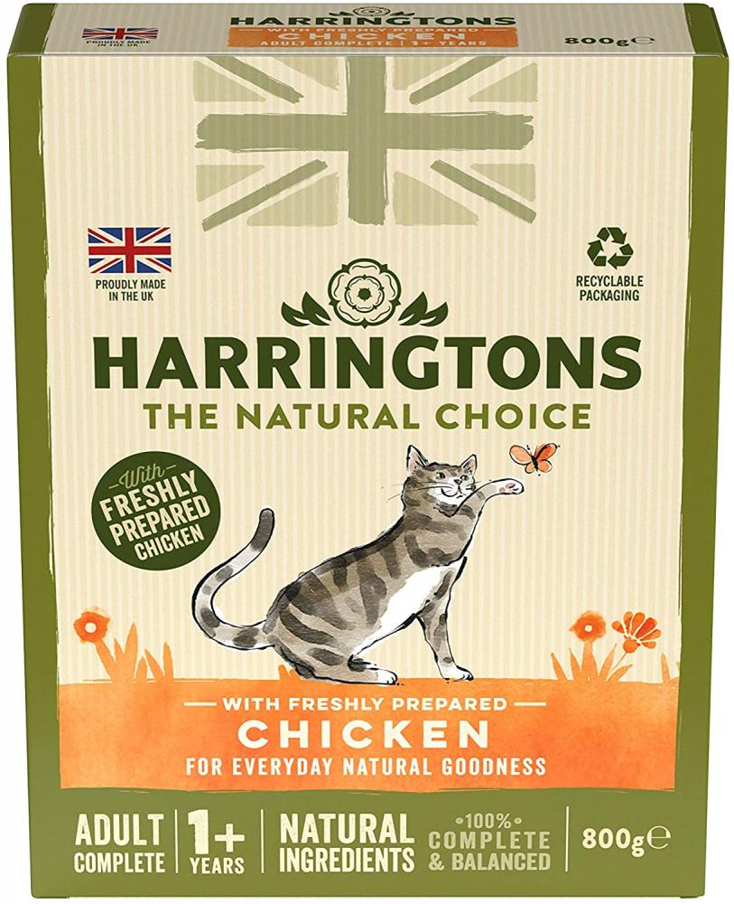 Harringtons Chicken Adult Complete Dry Cat Food 800 g