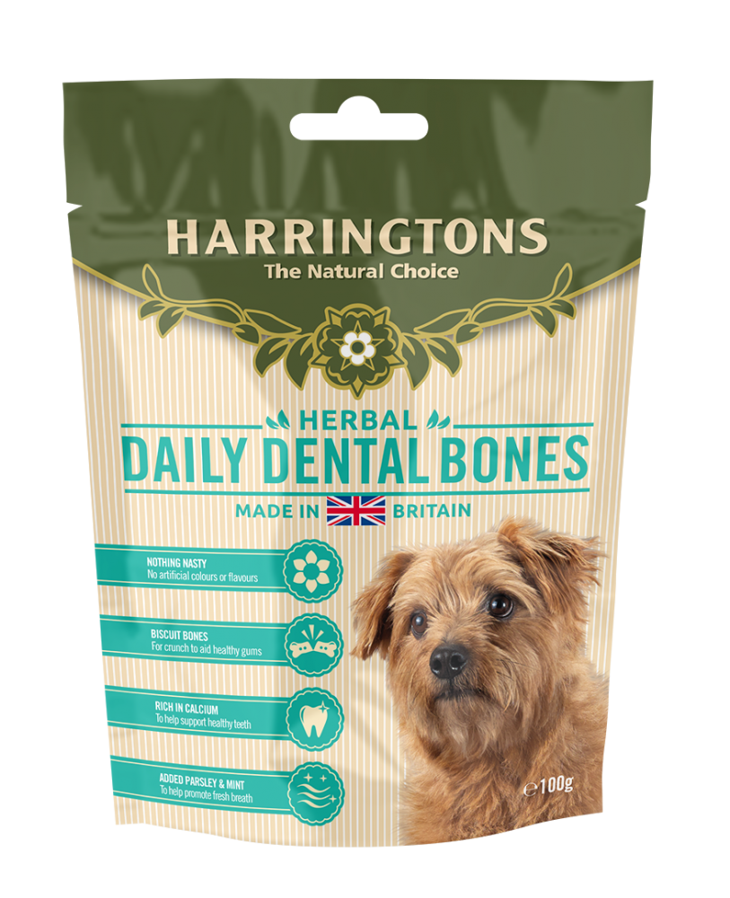 Harringtons Herbal Daily Dental Bones 100g