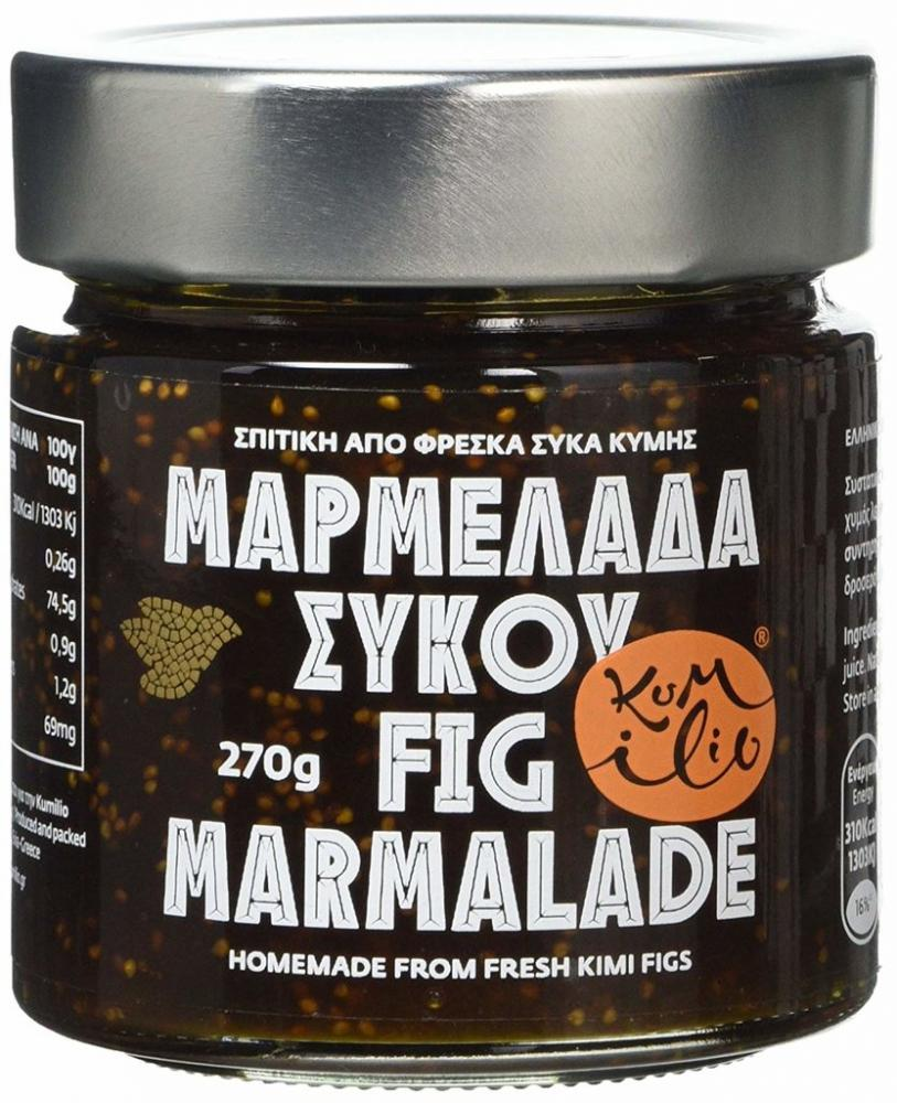 Kumilio Greek Handmade Kimi Fig Jam 270g