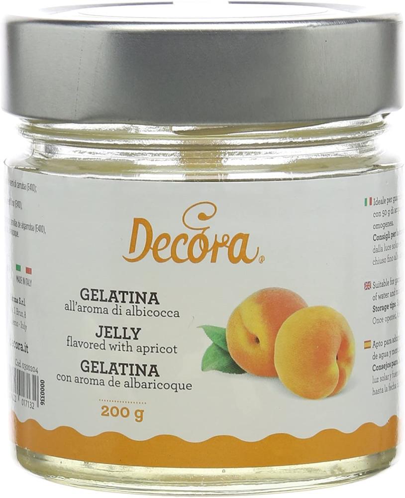 Decora Apricot Flavour Gelatin 200 g